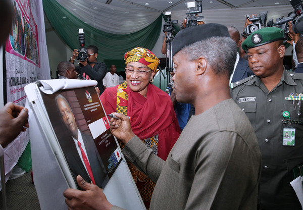 Osinbajo urges Nigerians, Muslims to reflect on national challenges, pray for Buhari