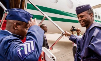 Osinbajo off to Italy for G7 summit