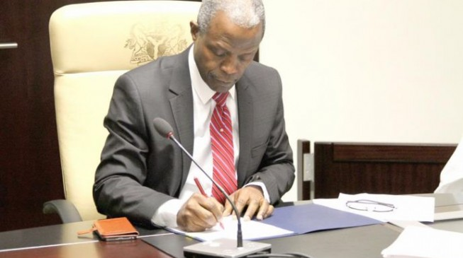 I approved NNPC contracts says Osinbajo