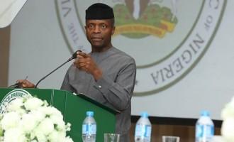 We must punish offenders, says Osinbajo