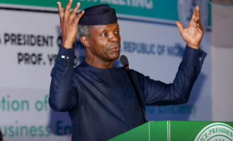 I have no plan of running for president in 2019, says Osinbajo
