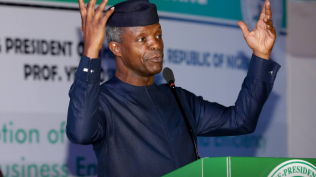 Future of oil declining, Osinbajo warns as countries discover alternatives
