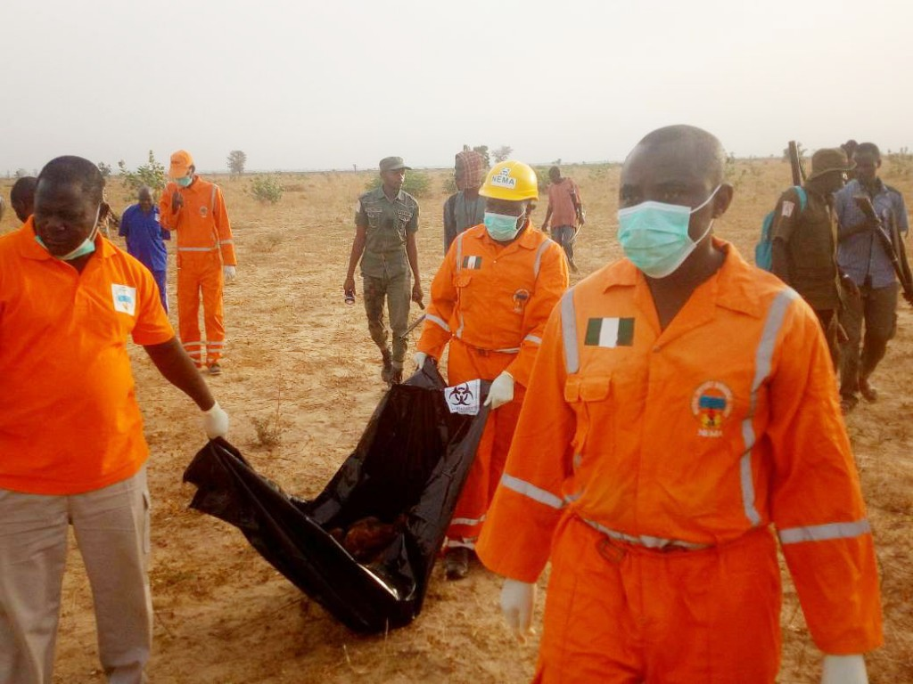 PIC.5. SECURITY FOILS SUICIDE BOMB       ATTACK ON UNIVERSITY OF MAIDUGURI