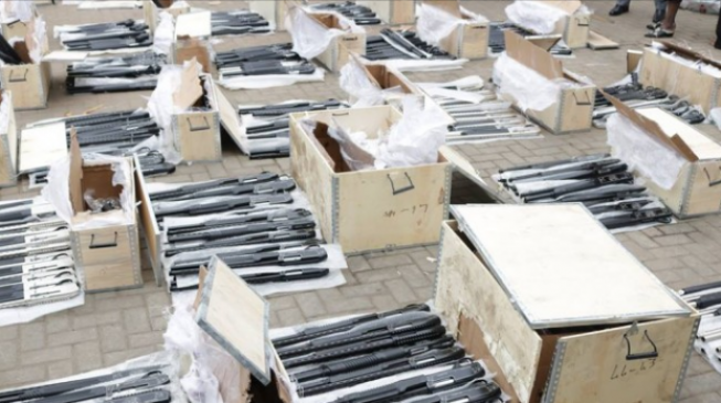 Customs Intercept Container-Load of Arms in Lagos Port