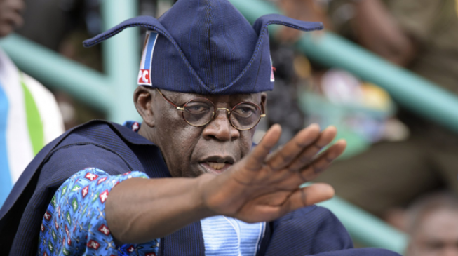 Tinubu and the penalty kicked into throw-in