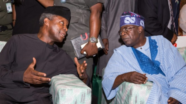 Tinubu Felicitates With Osinbajo On Birthday