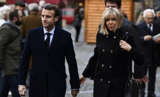 Berlusconi calls Macron's 64-year-old wife 'a beautiful mum'