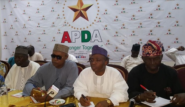 PDP 'Not An Offshoot' of New Mega Party, APDA