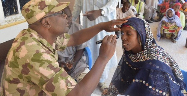 Airforce reaches out to IDPs in Borno