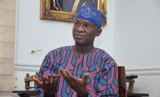 Inform the public when there's a problem with power, Fashola tells DisCos