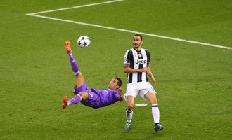 Ronaldo scores 600th career goal as Madrid win UCL back-to-back