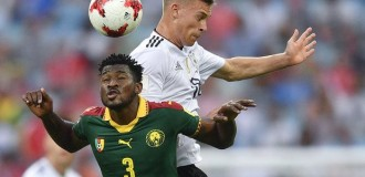 Germany eliminate African champions Cameroon from Confederations Cup