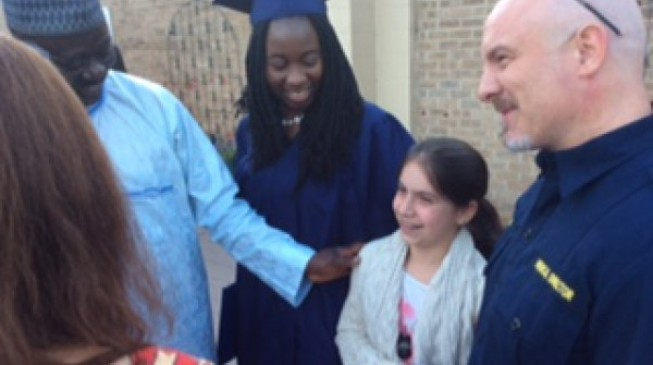 Two Chibok girls graduate from US high school
