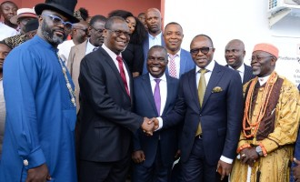 Oil company donates building to UNN