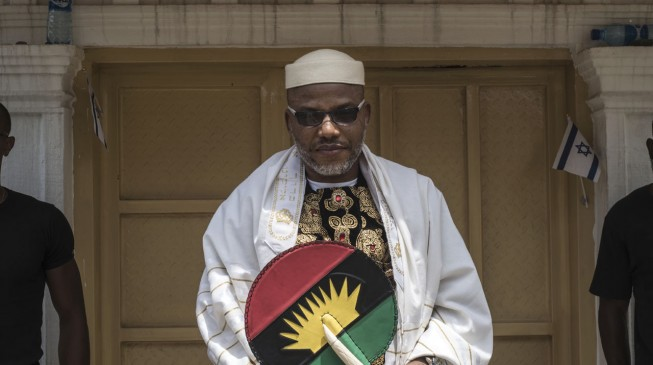 FG planning to kill my son, Nnamdi Kanu's father cries out