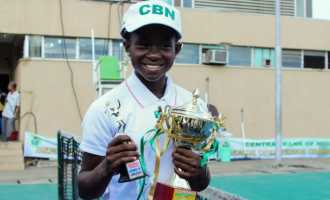 My goal is to be the best in tennis, says 14-year-old Marylove Edwards