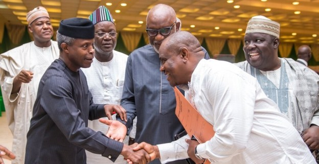 Osinbajo meets governors over rising tension