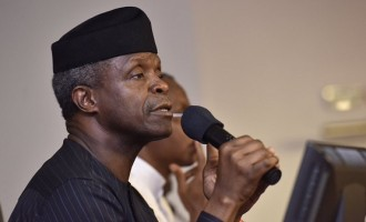 Osinbajo asks n'assembly to re-allocate N135bn in 2017 budget