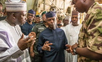 Osinbajo in Maiduguri hours after Boko Haram attack