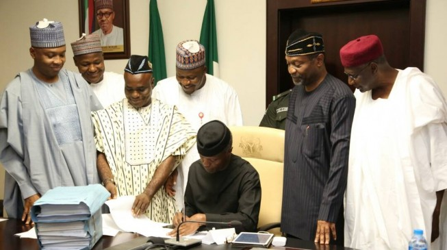 APC thanks Osinbajo for 'competent leadership' in Buhari's absence