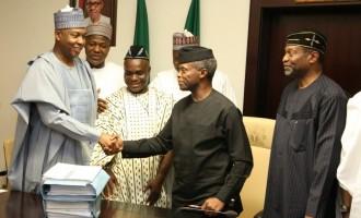 Renewed hostility between senate and presidency