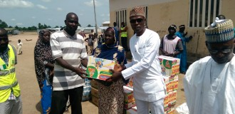 Foundation donates relief materials to Adamawa IDPs
