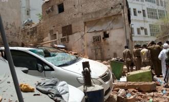 Six pilgrims injured as Saudi security foils attack in Mecca