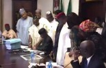 The moment Osinbajo signed 2017 budget