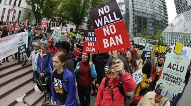 Trump calls Supreme Court ruling on his travel ban a 'clear victory'