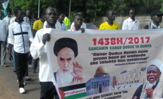 PHOTOS: Zakzaky's followers stage protests in northern states