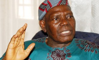 Bisi Akande: Nigerian politicians are sitting on a time bomb