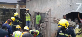 Building collapses in Lagos, kills mother, two-year-old daughter