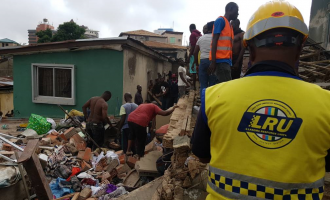 Death toll rises to eight in Lagos collapsed building