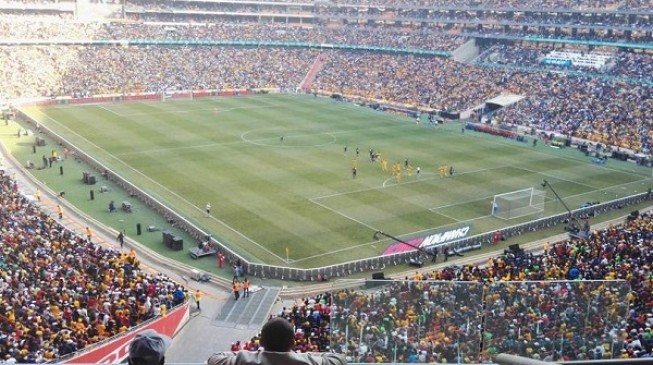 Two people die in Soweto derby stampede at FNB Stadium