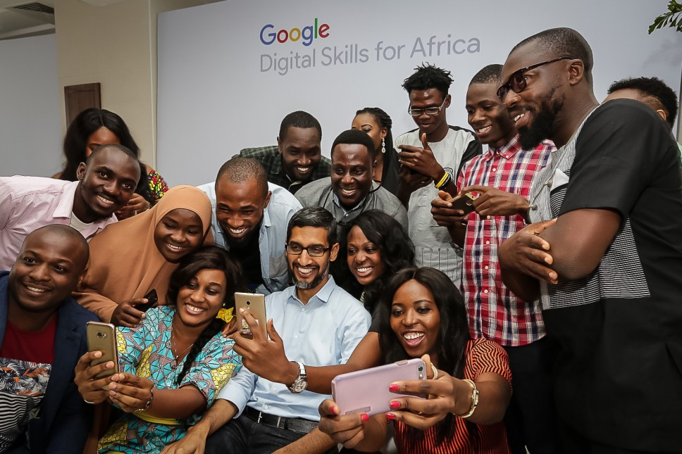 Google CEO attends 'Google for Nigeria' event in Lagos