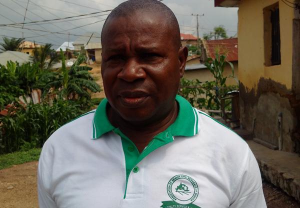 Hanson Akanemo, president Angwan Sarki landlords