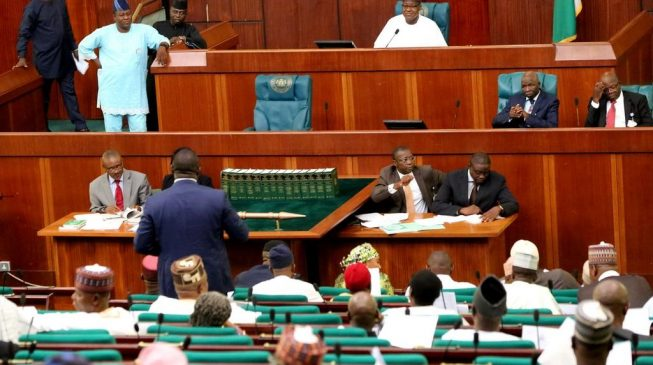 JUST IN: Reps Pass Bill For NFIU Autonomy