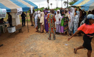 Osun west by-election: Voters troop out despite downpour