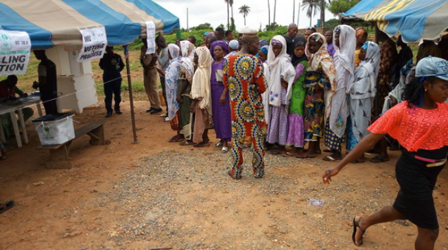 PDP Candidate Casts His Vote, Expresses Satisfaction With Turn Out