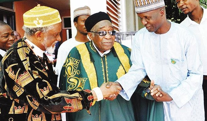 Maitama Sule and Igwe Laz