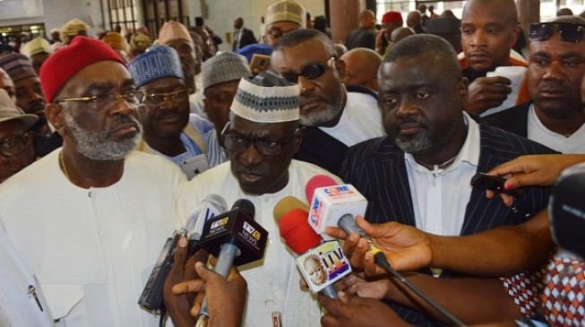 Supreme court sacks Sheriff, declares Makarfi authentic PDP chairman