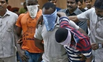 Five Nigerians arrested in India for 'drug, human trafficking'