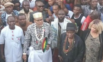 Nnamdi Kanu: We fully control the people… Anambra election will not hold