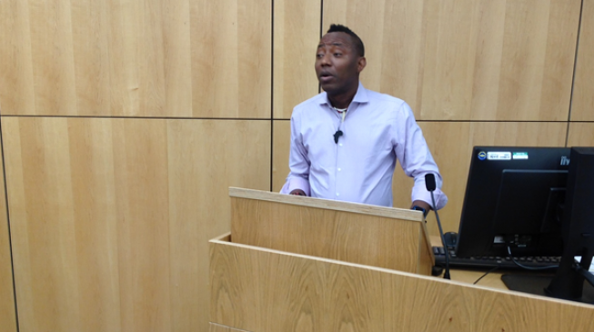 Sowore: Previous regime stole so much that those currently in power have nothing to steal