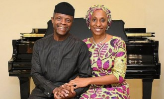 'My treasure, my wings' — Osinbajo writes emotional note to wife on 50th birthday