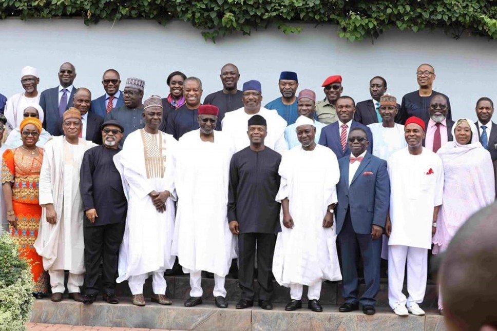 Osinbajo swears in news ministers