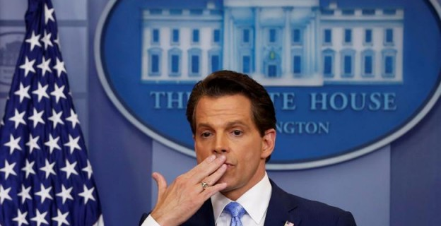 10 photos from Scaramucci's days at the White House