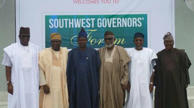South-west govs set up joint task force on security