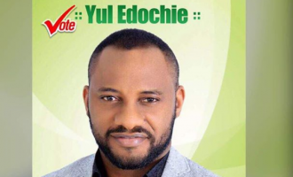 Actor Yul Edochie abandons presidential ambition
