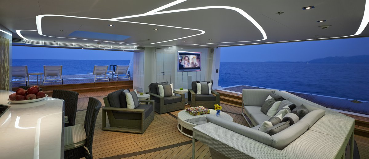 the-interior-was-made-by-bannenberg-and-rowell-design-one-of-the-most-prestigious-names-in-yacht-design-the-inside-is-meant-to-reflect-the-sleek-metallic-look-of-the-hull